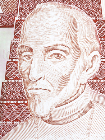 Francisco Marroquin portrait from Guatemalan money
