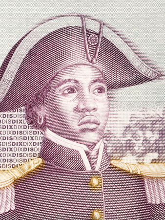 Sanite Belair portrait from Haitian money
