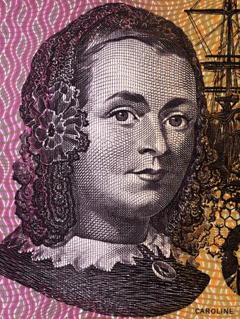 Caroline Chisholm portrait from Australian money