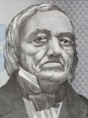 Karl Ernst von Baer portrait from Estonian money