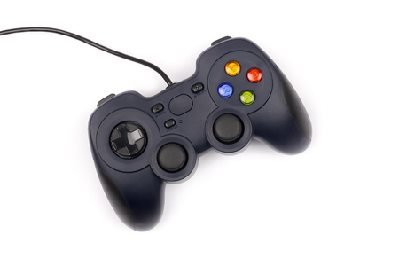 Gamepad on a white background