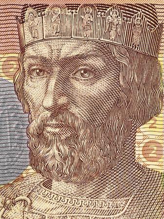 Yaroslav the Wise portrait from Ukrainian money