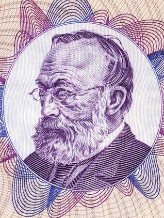 Gottfried Keller portrait from Swiss money Editöryel