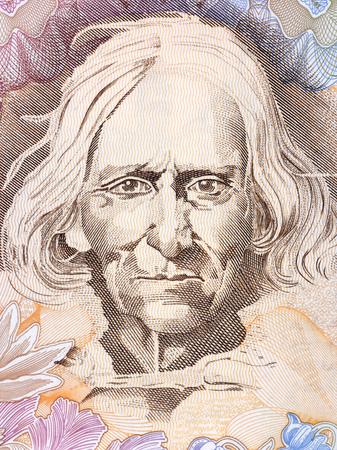 Jan Krzeptowski - Sabala, portrait from Polish money Sajtókép