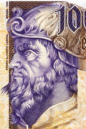 Pedro Alvares Cabral portrait from Portuguese money