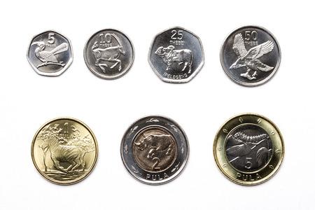 Coins from Botswana - Pula