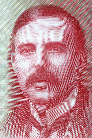 Ernest Rutherford a portrait from New Zealand money