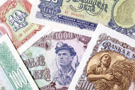 Old Albanian money, a background