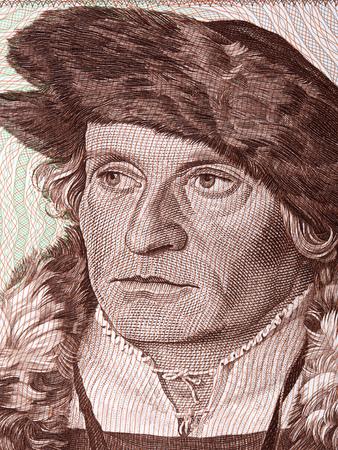 Portrait of man from Deutsche Mark Standard-Bild - 105110701