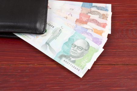 Soldi dalla Colombia nel portafoglio nero