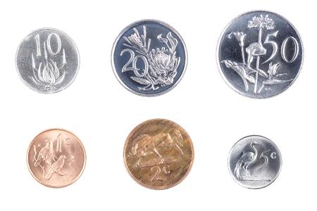 South African coins Stok Fotoğraf