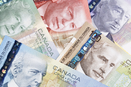 Canadian dollars, a business background
