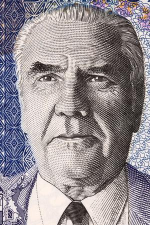 Joseph Maurice Paturau portrait from Mauritian money
