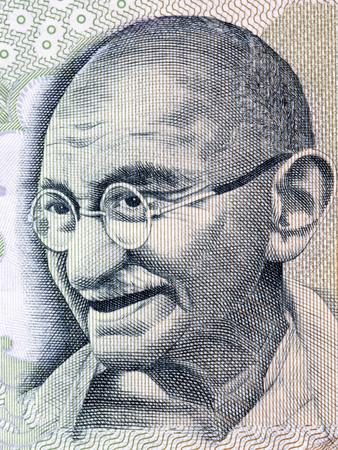 Mahatma Gandhi, portrait from Indian money
