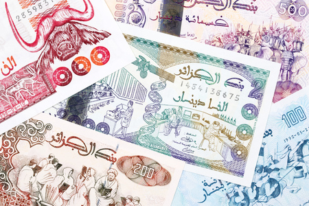 Algerian money a business background