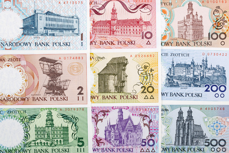 Polish money - the Polish Cities series, a background