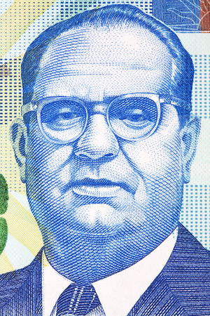 Stafford Lofthouse Sands portrait from Bahamian money