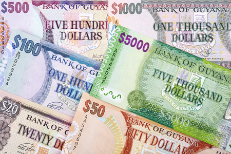 Guyanese money, a business background