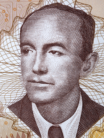 Nikola Sop portrait from Bosnia and Herzegovina money