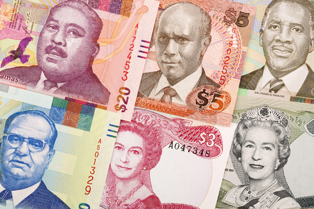 Bahamian dollars a business background
