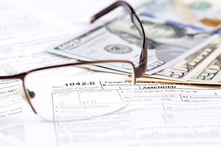 American Tax information 1042-S