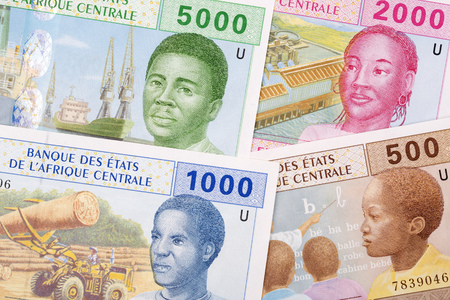 Central African money, a business background