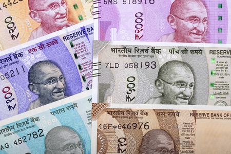 Indian rupee, a business background