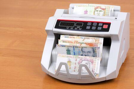 Peruvian Sol in a counting machine