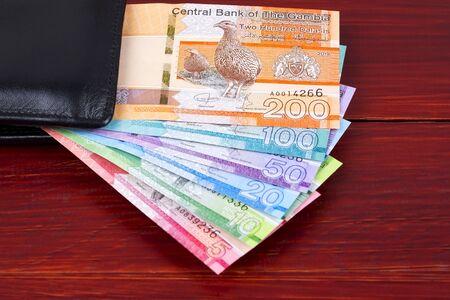 Gambian Dalasi in the black wallet