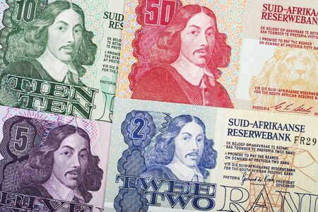 Old South African Rand a business background
