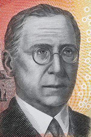 John Flynn a portrait from Australian dollars