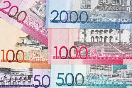 Dominican money - peso a business background