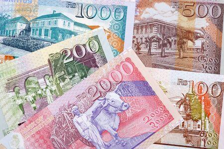 Mauritian money - rupee a business background