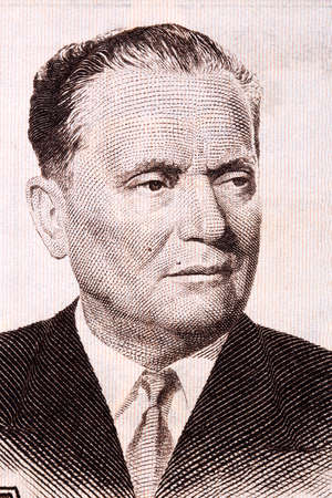Josip Broz Tito a portrait from old money