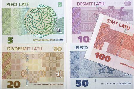Latvian lats a business background