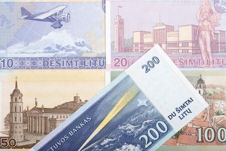 Lithuanian litas a business background