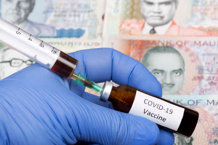 Vaccine against Covid-19 on the background of Mauritian rupee