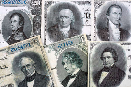 Silver Certificates - USA currency issued in 1880
