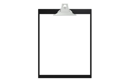 Clipboard, front view Stock Photo - 9152473