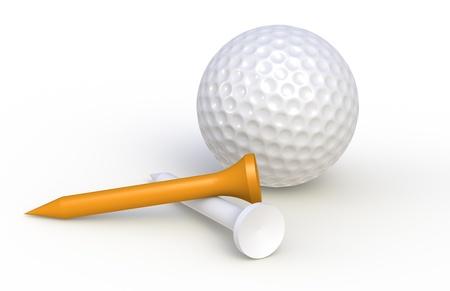 pelota de golf: Camisetas y pelota de golf