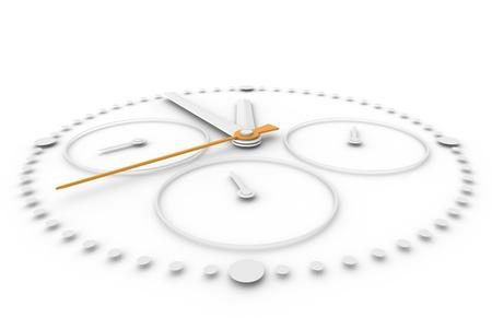 chronograph: Time. Closeup of a Chronograph Watch