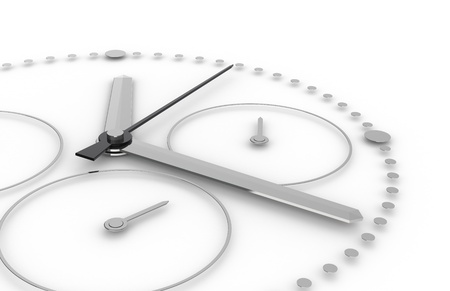 chronograph: Time. Perspective view of a Chronograph Watch   Stock Photo