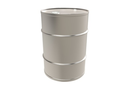 oil barrel: Metal Barrel, Copy Space