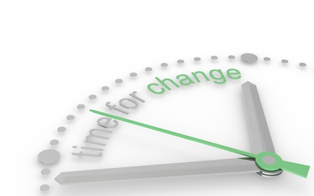edition: Time for Change, Eco Edition. Green Stock Photo