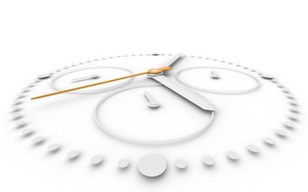 cronógrafo: Perspctive vista och Reloj cronógrafo. Naranja y negro