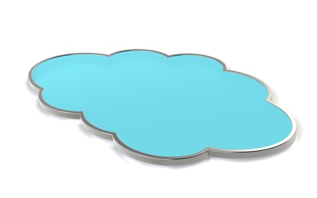 Abstract cloud. Cloud Computing. Stock Photo - 10999663