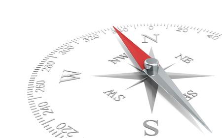 navegacion: Direcci�n Perspectiva abstracta de un dial de la br�jula de acero