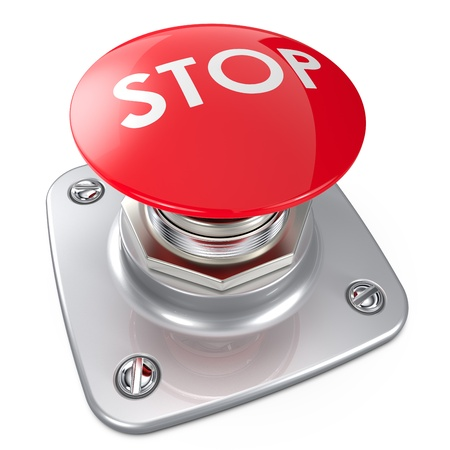 panic button: Red STOP button