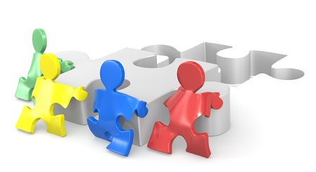 implement: Puzzle Persone aiutare le mani per soluzione 2 di 2