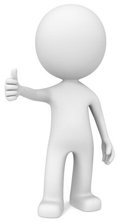 thumbs up symbol: Like  The Dude giving thumb up